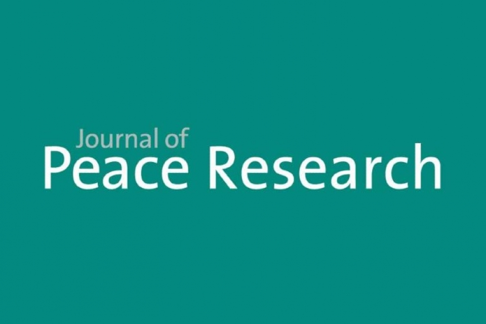 Journal of Peace Research logo